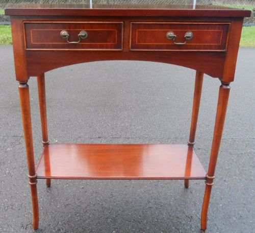 Flame Mahogany Georgian Style Side Table